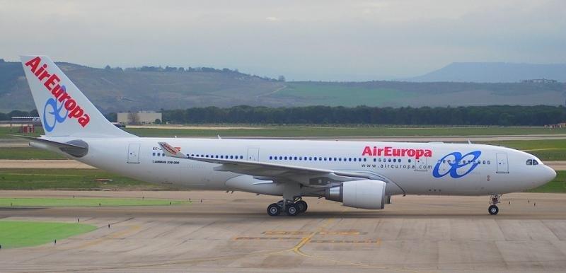 Air Europa estrena su ruta a Honduras con un 80% de ocupación