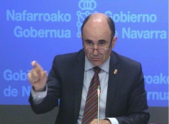 Manu Ayerdi, ayer en la presentación del nuevo plan turístico.