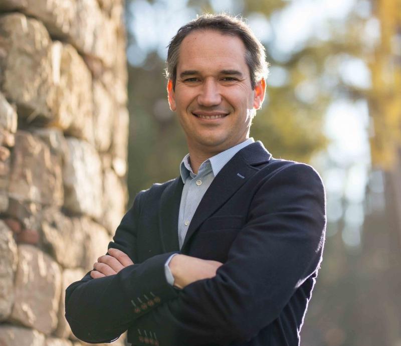 El director del hotel Sofia, Jordi Maestro.