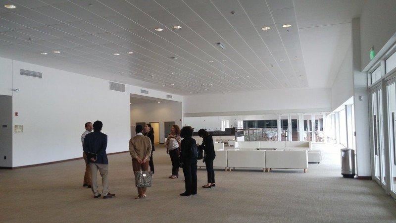 Los técnicos de la OMT y la Fundación Themys visitaron el Centro de Convenciones de Punta del Este.