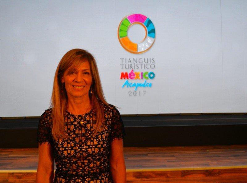 Lourdes Berho, directora del Consejo de Promoción Turística de México.