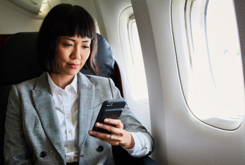 El beneficio de Internet a bordo sin cargo adicional se extiende a todos los pasajeros en los vuelos de Turkish Airlines desde Estambul a EEUU. Foto: Turkish Airlines.