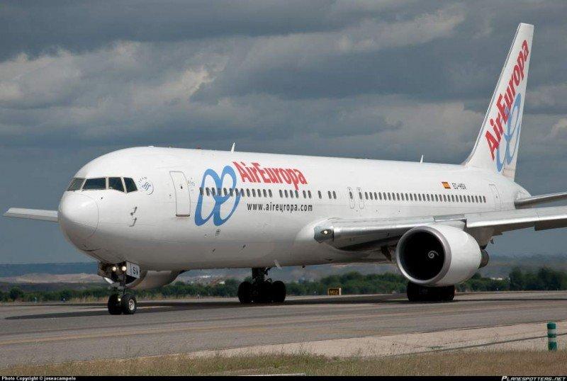 Air Europa abrirá nuevo vuelo directo entre Madrid y Río de Janeiro