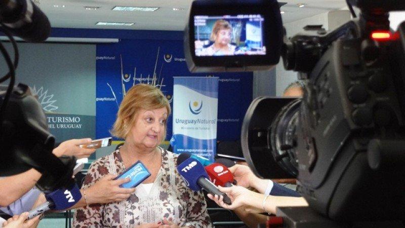 Liliam Kechichian destacó el aumento de la balanza turística en el primer trimestre.