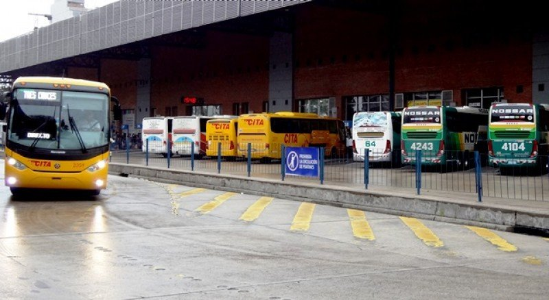 Terminal Tres Cruces de Montevideo con operativo especial en Semana Santa.