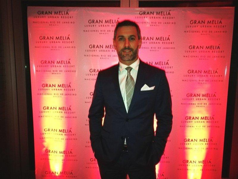 Cristian Bernardi Director de Ventas y Marketing de Gran Melia Nacional Rio de Janeiro.