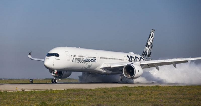 Airbus A350-1000, está programado para entrar en servicio durante el segundo semestre de 2017 (Foto: Airbus/ S. Ramadier).