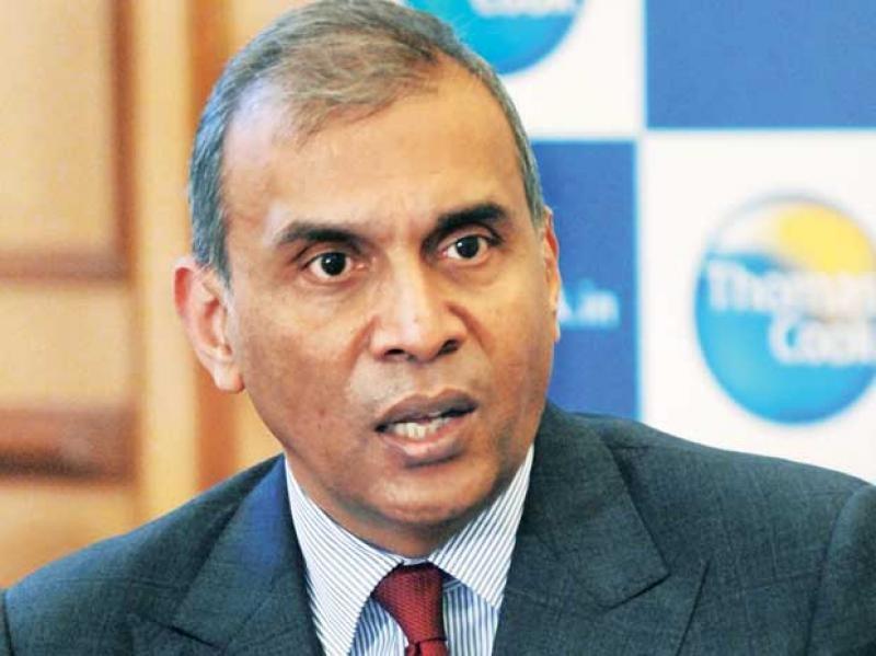 El presidente y director general de TCIL, Madhavan Menon. Foto: Business Standard.