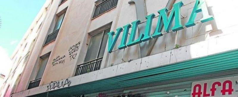 Almacenes Vilima cerró en el año 2001.