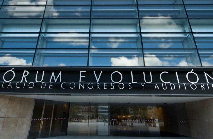 El Forum Evolución, el nuevo centro de Burgos para la celebración de congresos.