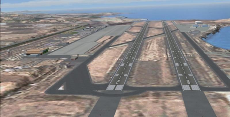 El Aeropuerto de Gran Canaria cierra la pista 03R/21L (Foto: USCA).