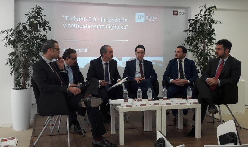 De izq. a dcha, Gustavo Salto, Rafael Mesa, Gabino Diego, Daniel Visintin, Sergio Gómez y Álvaro Carrillo.