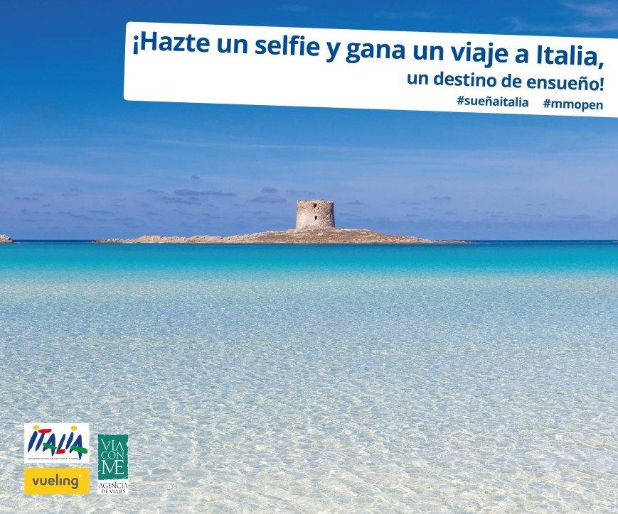 El Enit ha puesto en marcha  un concurso dedicado al público español con el hashtag #sueñaitalia.