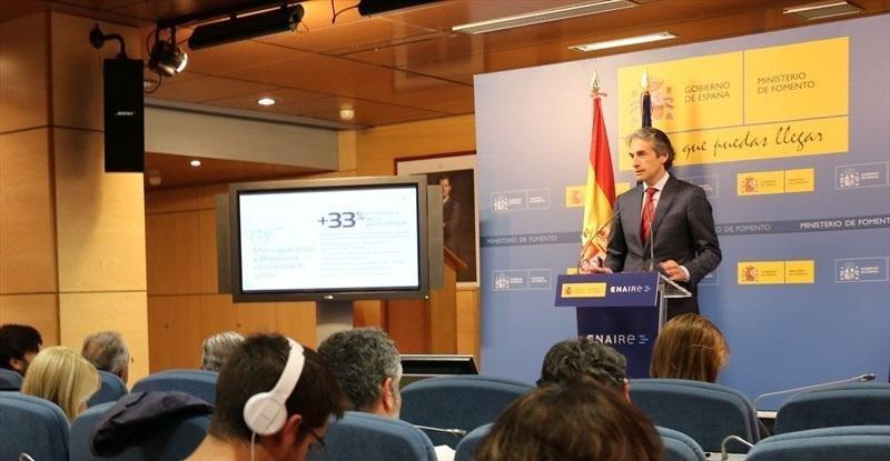 El plan de navegación aérea 2017-2020 ahorrará a las aerolíneas 343 M €