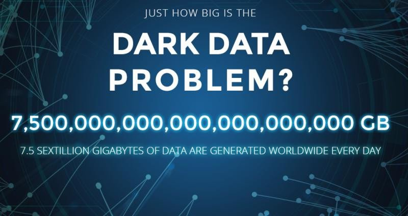 El 'problemilla' de los datos oscuros.