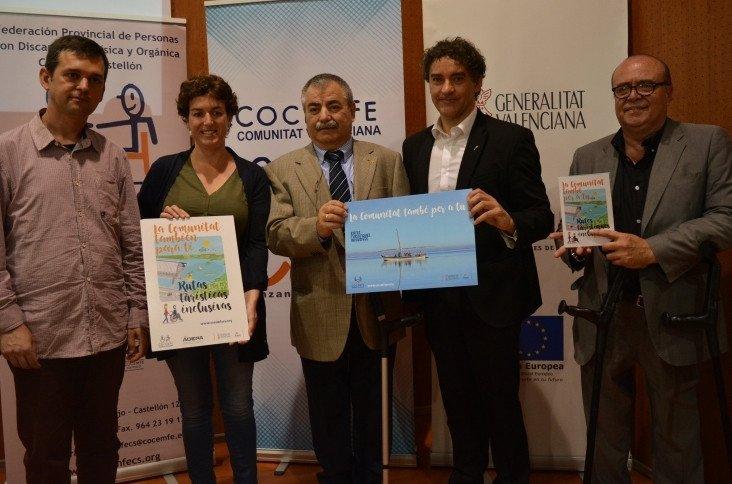 Presentación de las nuevas rutas de turismo inclusivo.