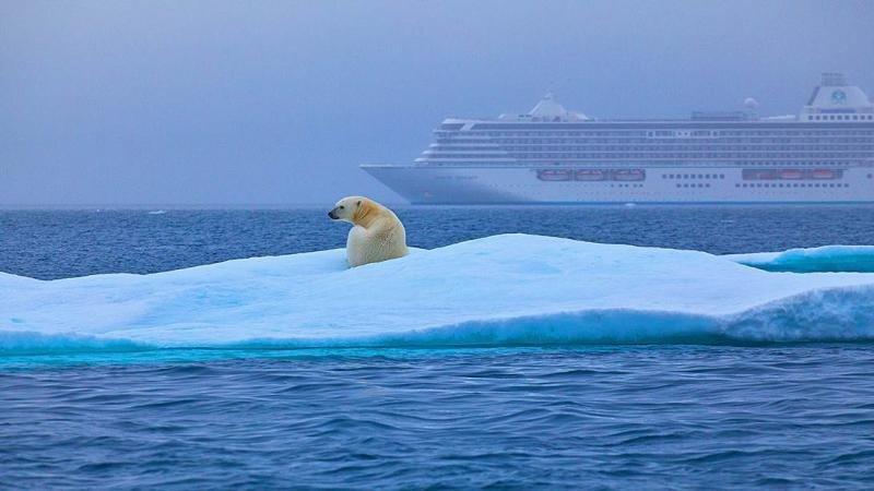 El crucero del cambio climático zarpa hacia el Ártico
