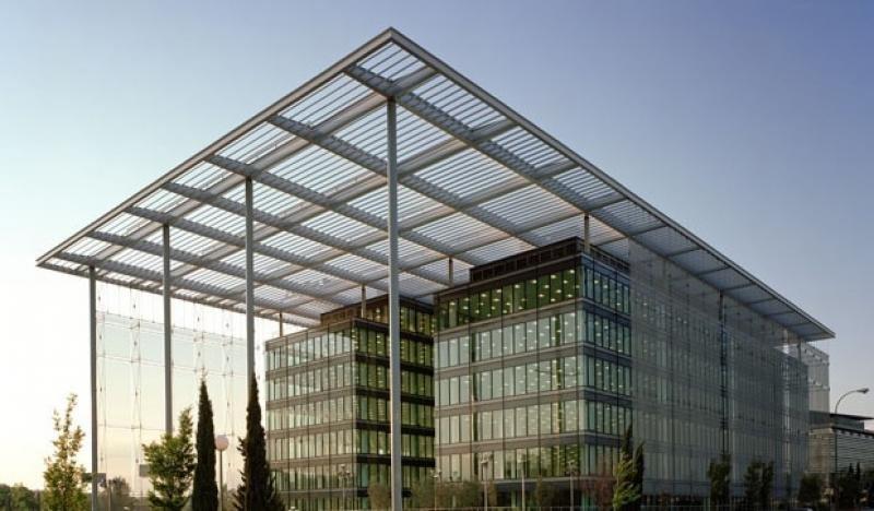 Edificio Pórtico de Madrid, sede de Wamos.