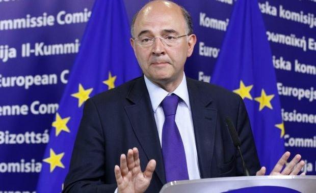 El comisario europeo de Asuntos Económicos de la Comisión Europea, Pierre Moscovici.