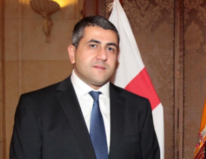 Zurab Pololikashvili, embajador de Georgia en España