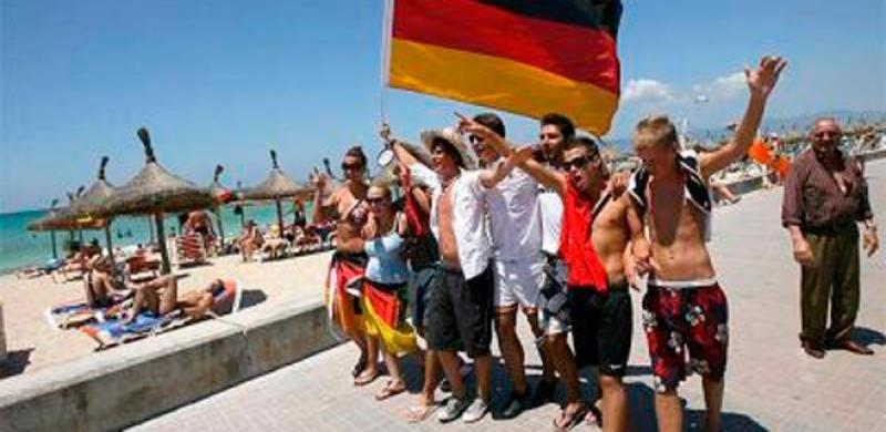 El turismo alemán cae en Baleares un 8-10% según las ventas hasta abril