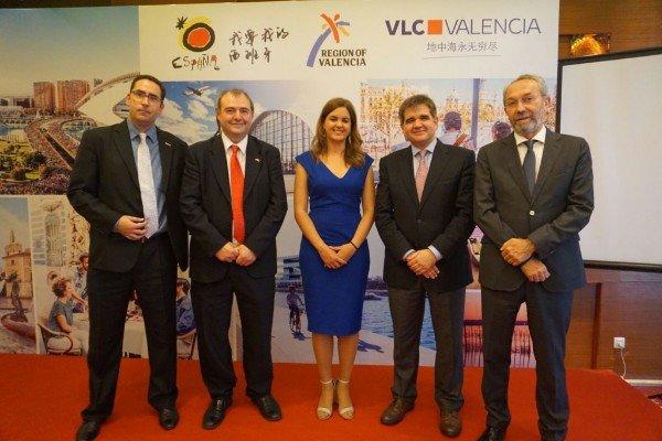 Valencia apuesta por el mercado chino.