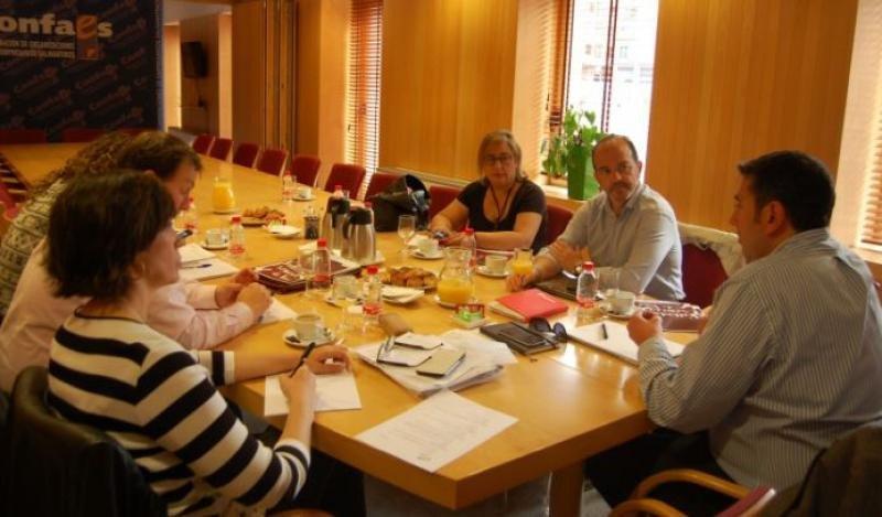 Reunión de Feclav. Foto: pyme.info