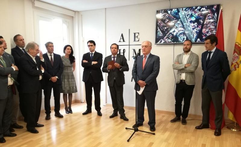 La Asociación Empresarial Hotelera de Madrid ha inaugurado su nueva sede en el marco de su 40 aniversario