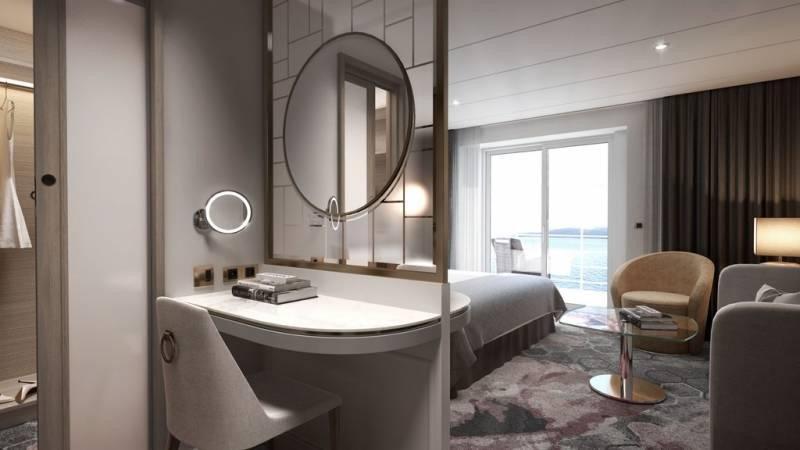 Áticos de lujo y última tecnología en el nuevo concepto de Crystal Cruises