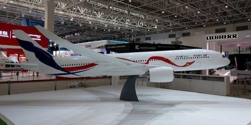 China y Rusia fabricarán juntos un avión de fuselaje ancho