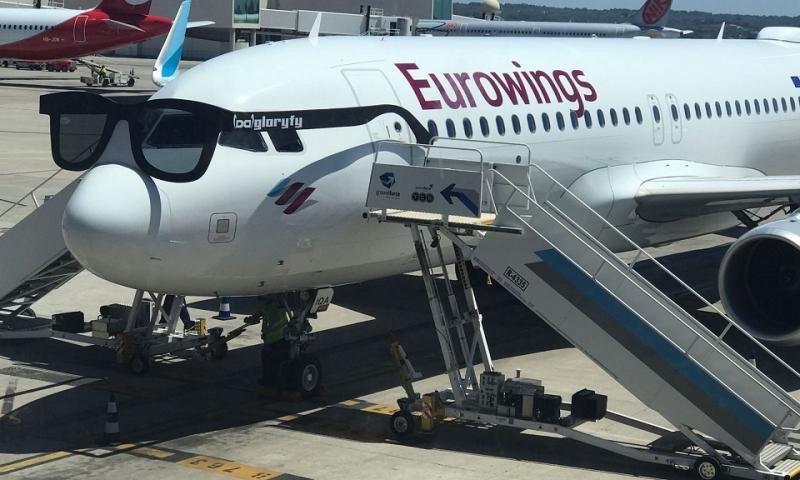 Eurowings estrena su nueva base en Palma de Mallorca