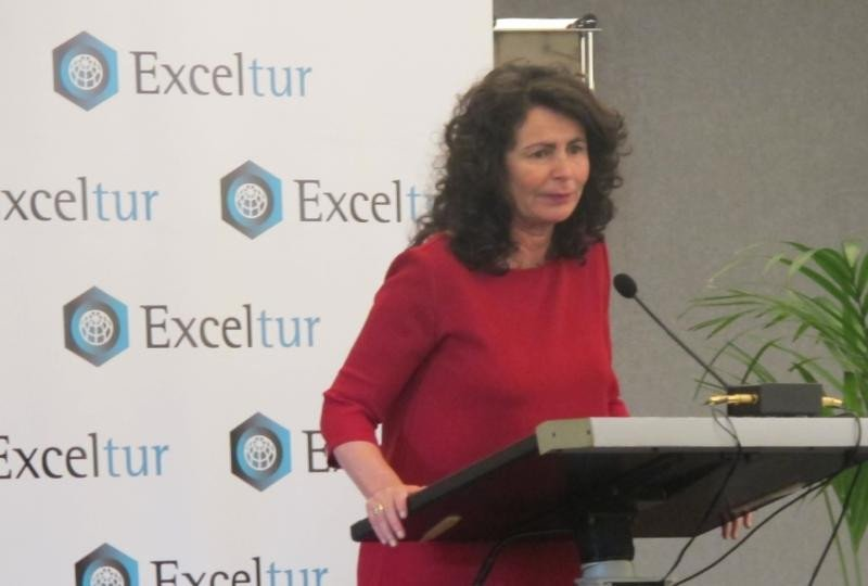 La secretaria de Estado de Turismo, Matilde Asián, clausuró el evento.
