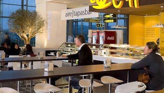 El incremento de pasajeros en los aeropuertos contribuyó a la mejora del sector del catering.