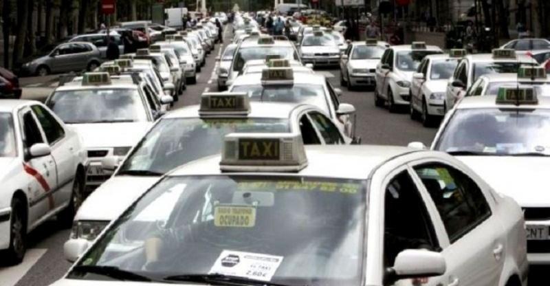 Los taxistas toman Madrid y realizan paros en toda España este martes