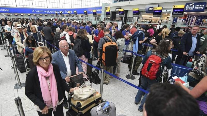 El fallo de British Airways afectó a unos  75.000 pasajeros (Foto: Efe).