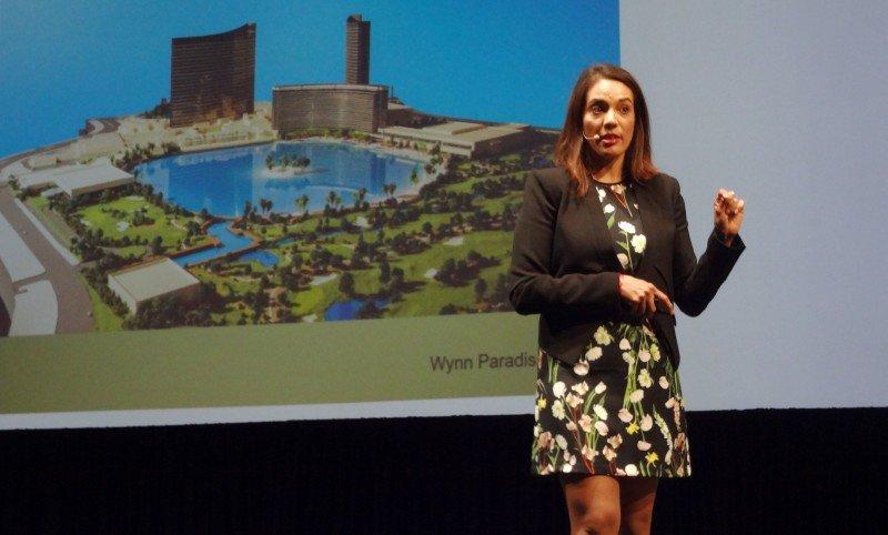 Susan Salazar, de Wynn Las Vegas, presentó en Riviera Maya los nuevos proyectos de la compañía hotelera.