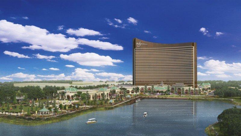 El complejo Wynn Boston Harbor está en construcción y su inauguración proyectada para 2019.