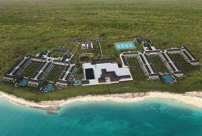 Nuevo Paradisus Resort en Cayo Santa Maria para 2018, uno de los proyectos de la cadena en Cuba.