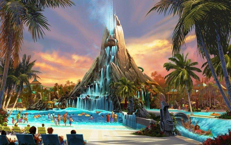 Volcano Bay es el tercer parque temático de Universal en Orlando. Abre el 25 de mayo.