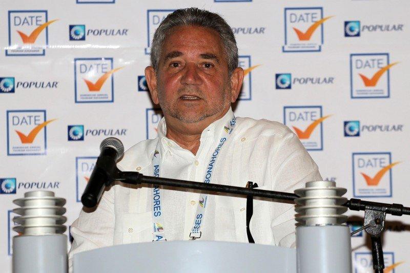 Presidente de la Asociación de Hoteles de Santo Domingo (AHSD), Roberto Henríquez.