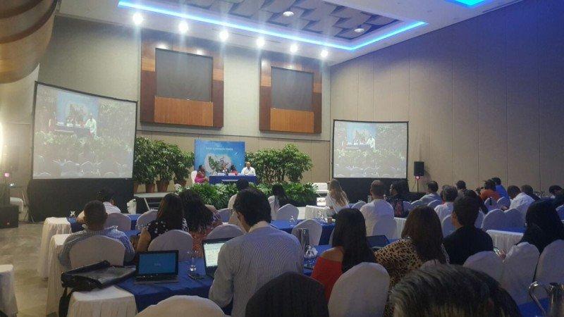 En el congreso de Honduras se realizan charlas y talleres para todos los sectores que participan en la industria de cruceros: desde agencias de viajes a proveedores.