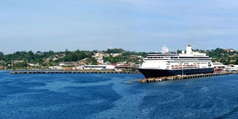 Puerto Limón, puerta de entrada al Caribe costarricense.