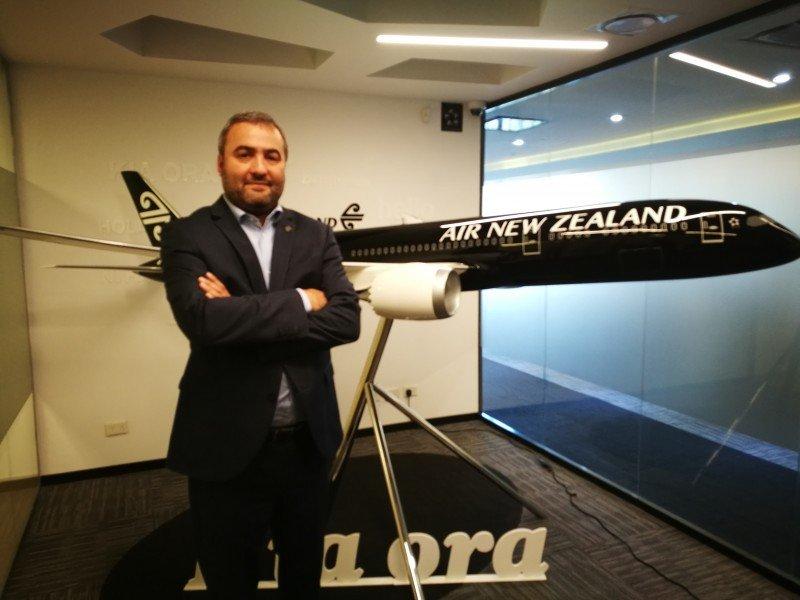 Alex Obaditch, General Manager de Air New Zealand en Sudamérica.