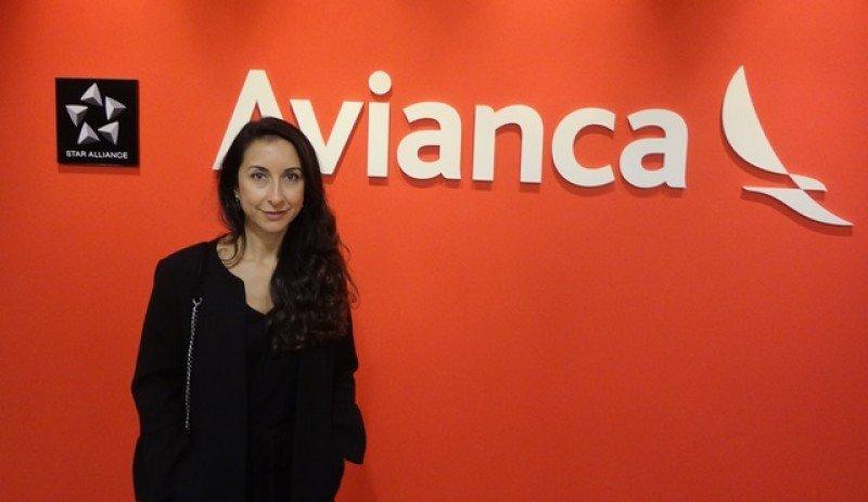 Silvia Mosquera, vicepresidenta ejecutiva de Ventas, Mercadeo e Ingresos de Avianca, en las oficinas de la aerolínea en Montevideo.