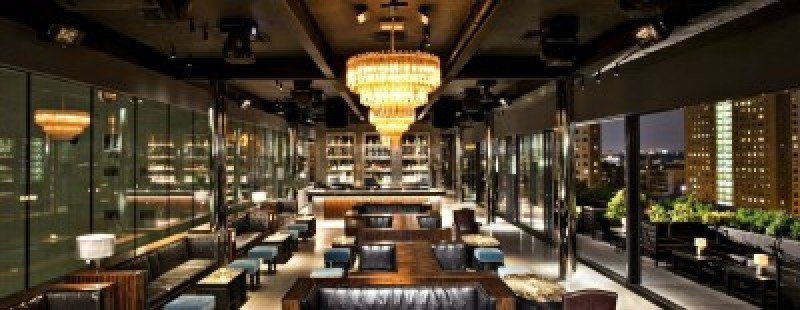 Imagen del restaurante de uno de sus hoteles en Nueva York.