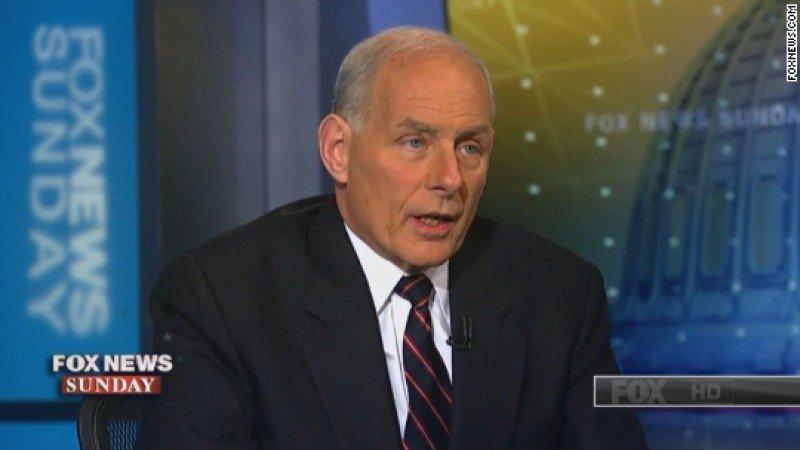 'Los terroristas están obsesionados con la idea de derribar un avión en pleno vuelo, particularmente si es una compañía estadounidense y está llena de estadounidenses', dijo John Kelly. Foto: Fox News
