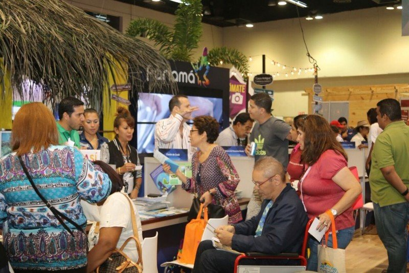 La feria Expo Turismo llegó a su octava edición demostrando su crecimiento. Foto: ATP Panamá.