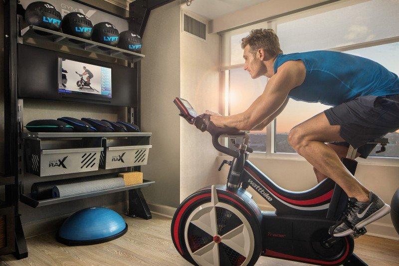 Hilton incorpora habitaciones fitness