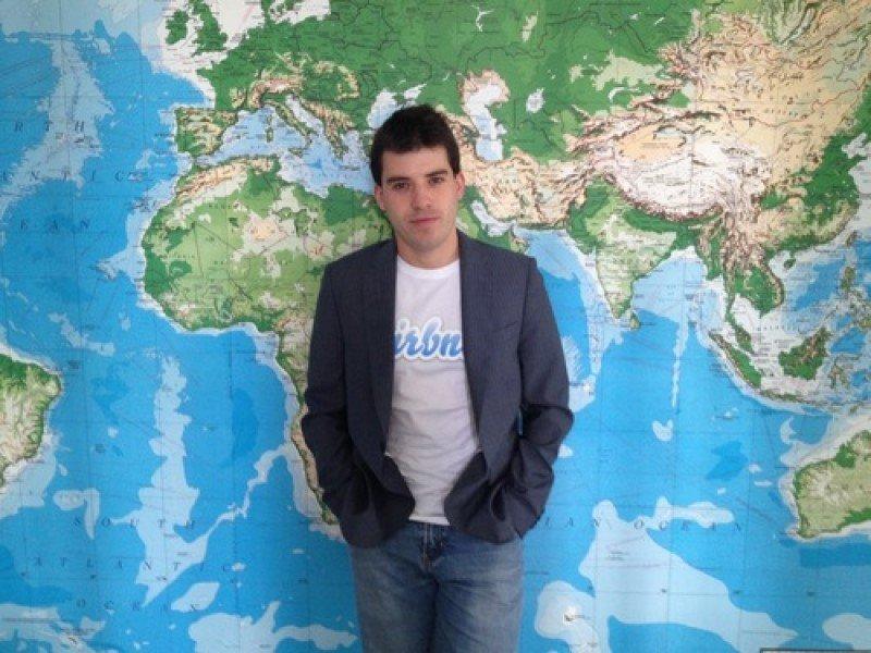 Jordi Torres, director de Airbnb para América Latina y el Caribe, con sede en Miami.