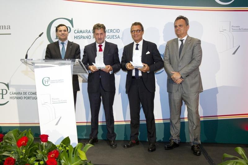 Amancio López, premiado por la Cámara de Comercio Hispano-Portuguesa